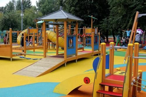 Инклюзивные детские площадки - игра для всех